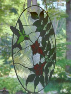 hummingbird stained glass - Google Search