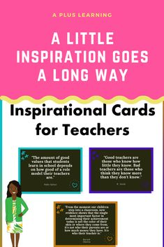 Inspirational Cards For Teachers Teacher Cards, Your Teacher, Best Teacher, School Resources, Classroom Resources, Teacher Resources, Classroom Organization, Classroom Management, Staff Morale