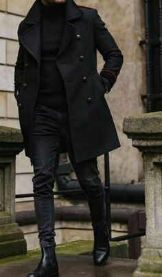 20 more winter outfits men black jeans * winter outfits männer schwarze jeans winter outfits men black jeans * Classic winter men outfits; Winter Outfits Men, Stylish Mens Outfits, Men Winter Fashion, Fashion Spring, Casual Outfits, Fashion Mode, Suit Fashion, Fashion Boots, Fashion Styles