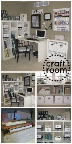 home happy home craft studio... I want a room like this so bad!! One day