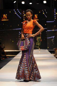 ACCRA FASHION WEEK 2014 | De somptueuses tenues féminines et tendances.