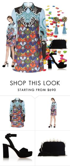 """""""Seeing Stars"""" by easy-dressing ❤ liked on Polyvore featuring Mary Katrantzou, Miu Miu, Dsquared2, stars and polyvoreeditorial"""