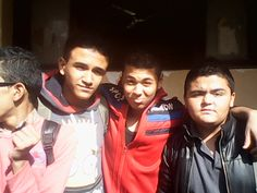 with my frinds