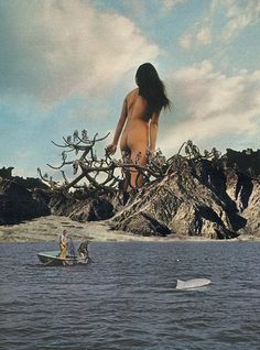 Wonderful, Other-Worldly Pop Art Collages Made From Vintage Magazines