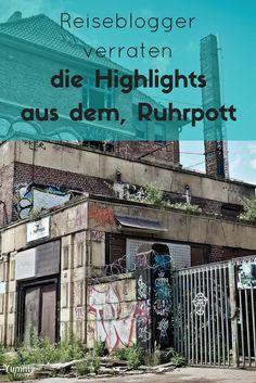 Ich gebe dir Tipps für deine Reise in den Ruhrpott. Du bekommst hier Tipps von Reisebloggern, die das Ruhrgebiet als Reiseziel lieben!