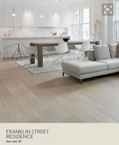 General Ambiance Flooring Type And Color Table.