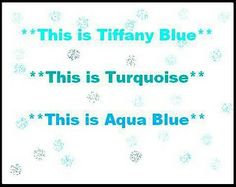 Tiffany Blue Aqua And Hahaha Womens Colors For Mens