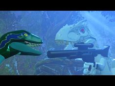 LEGO Jurassic World Indominus Rex The New Raptor Alpha!