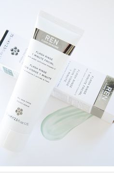 ROAD TESTING REN FLASH RINSE 1 MINUTE FACIAL - on the #Sephora Glossy>