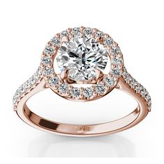 Another stunning #engagement ring. We absolutely love #rosegold {25karats}