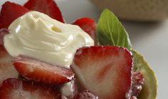 Fresas al queso #CuidarseEsDisfrutar
