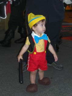 Pinocchio costume for my baby boy. Pinnochio toddler ...  sc 1 st  Pinterest : boy toddler costume ideas  - Germanpascual.Com