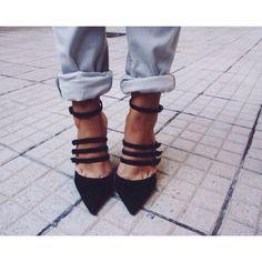Heels and jeans. Always.