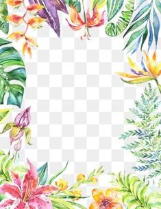 Fantasy poster background beautiful flower green leaves PNG and PSD Kawaii Wallpaper, Cute Wallpaper Backgrounds, Cute Wallpapers, Watercolor Leaves, Watercolor Background, Watercolour, Flower Frame, Flower Art, Binder Covers