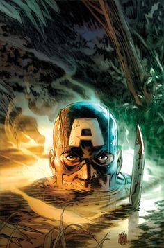 Captain America - Ron Garney