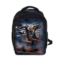 Custom Image Bags 3D Dinosaur Print Backpack For Children School Bags For Kindergarten Boys Waterproof Small Backpacks 13 Inch