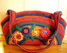 solo foto Crochet Tote, Crochet Purses, Knit Crochet, Straw Tote, Little Birds, Knitted Bags, Handmade Bags, Diy And Crafts, Crafty