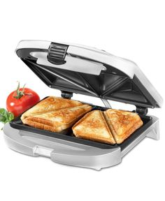 Cuisinart Wm-SW2 Sandwich Grill, Brushed Chrome  everyone in my family has their own one of these... Simply the greatest sandwich maker EVER! mom made me sandwiches when i was little- i was so excited to get my own. Time for a new one!