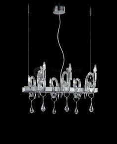 """Murano Glass Chandelier """"Moon Light"""" the elegant italian style!  #murano #chandeliers #modern #beautiful #muranolampstore"""