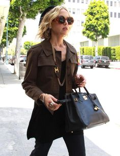 I DIE for Rachel Zoe: Out and About in a Chanel necklace