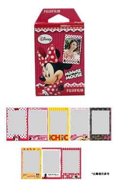 Aliexpress.com : Buy Free Shipping Fuji Fujifilm Minnie Mouse Instax Mini Film / Polaroid Film (10pcs) for Instax Mini 7s 25 50s / Polaroid Camera from Reliable Fujifilm suppliers on Holgadget