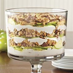 Peanutty Apple Trifle - The Pampered Chef®
