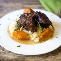 Easy Instant Pot Beer Braised Short Ribs - Everyday Eileen