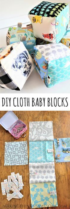 Tyi cloth baby box baby diy projects, sewing projects for kids, baby crafts Diy And Crafts Sewing, Sewing Projects For Kids, Baby Crafts, Sewing For Kids, Homemade Baby Gifts, Diy Baby Gifts, Homemade Baby Clothes, Homemade Crafts, Kids Gifts