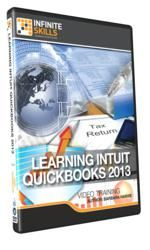 """InfiniteSkills Release """"Learning Intuit QuickBooks 2013 Training Course"""" A Video Based Guide to Computer-based Bookkeeping Software training firm InfiniteSkills releases a 9 hour course on """"Learning Intuit QuickBooks 2013;"""" this 115 lesson course is designed to teach basic accounting skills and techniques using the popular computer-based accounting program."""