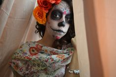 Free Image on Pixabay - Face, Catrina, Women Riviera Maya, Tulum, Free Pictures, Free Images, Cozumel Excursions, Maquillaje Halloween, Art Reference, Halloween Face Makeup, Cosplay