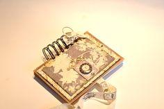 Notebook 'Paris' hand made by Bluebell Notebook, Scrapbook, Paris, Handmade, Accessories, Montmartre Paris, Hand Made, Scrapbooking, Paris France