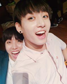 Hoseok x Jungkook | hahahhaahha too cute