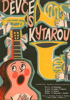 Authors: Malák, Jaroslav  Origin of film: Soviet Union  Year of poster origin: 1959  Director: Alexandr Fajncimmer