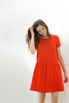 Robe Irisu Rouge - Robe - Des Petits Hauts 1