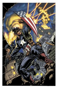 Capitain America by Robert Q. Atkins