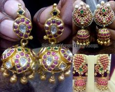 Heavy Weight Unique Jhumkas