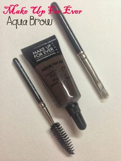 Make Up For Ever (MUFE) Aqua Brow #30 Review and swatches - my holy grail!