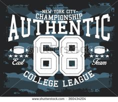 camouflage authentic nyc sport vector print and varsity. For t-shirt or other uses in vector.T shirt graphic