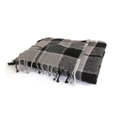 """Eclipse Home Collection Plaid Throw 64"""" L x 50"""" W"""