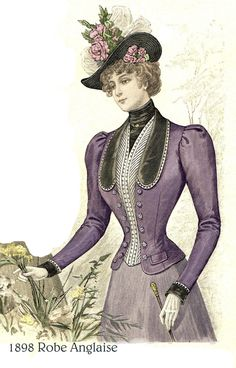 1898 Jacket (sewing pattern reproduction available)