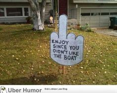 The Best Funny Pictures Compilation Neighbor Complained About Boathttp://omg-pictures.tumblr.com View more funny pictures at http://www.yoloism.com/neighbor-complained-about-boathttpomg-pictures-tumblr-com/