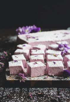 """sweetoothgirl: """"  Hibiscus Marshmallows """""""