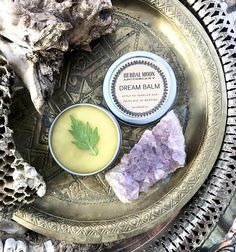 DREAM BALM  organic mugwort salve for dreaming trancework
