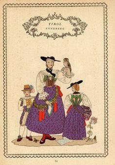 Tirol 34 Austria, Folk Costume, Costumes, Germany, Traditional, Regional, Switzerland, Movie Posters, Design