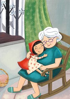 Julissa Mora is Children's illustrator living in Austin, Texas. She creates happy and whimsical art for kids books, coloring activities, greeting cards, prints and more. Mother Daughter Art, Grandmothers Love, Family Drawing, Children's Book Illustration, Illustration Children, Girl Illustrations, Red Riding Hood, Cartoon Kids, Whimsical Art