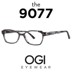 9aa7b928ff4 Ogi Eyewear 9077 in Anthracite Tiger Fade Women s Eyewear
