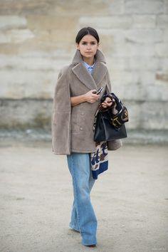 Casual elegance...Paris Fashion Week