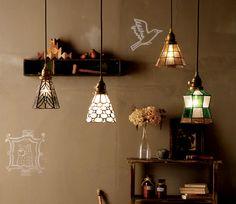 天井照明 Stained glass-pendant|家具・インテリア通販 Re:CENO【リセノ】