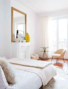 7 Productive Cool Tips: Natural Home Decor Modern Lights natural home decor diy house smells.Natural Home Decor Ideas Bathroom natural home decor inspiration interior design.Natural Home Decor Living Room Coffee Tables. Spare Bedroom Decor, Bedroom Ideas, Parisian Bedroom Decor, Bedroom Furniture, Decor Room, Bedroom Inspiration, Vintage Paris Bedroom, Interior Inspiration, Parisian Chic Decor