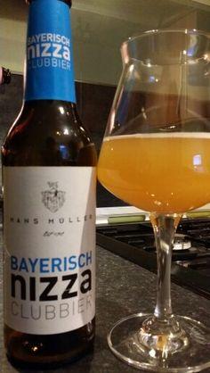 Hans Műller Bayerisch Nizza Clubbier Hefeweizen By Eder & Heylands Brauerei…
